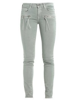Replay BRIGIDOT Jeansy Slim Fit sage green