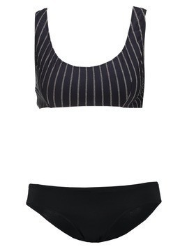 Pistol Panties SASKIA Bikini black gold stripe