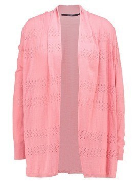 Vero Moda VMINES NYNNE SHAWL CARDIGAN Kardigan strawberry ice
