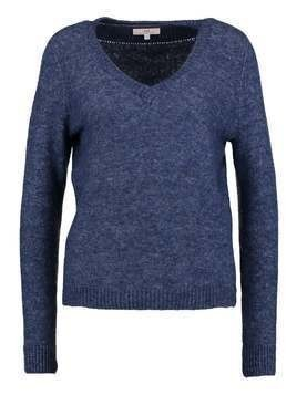 Lee V NECK KNIT      Sweter sodalite blue