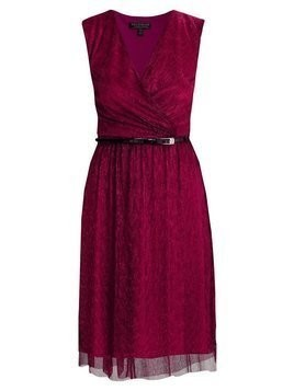 Dorothy Perkins SHOWCASE WRAP PLISSE DRESS Sukienka koktajlowa red