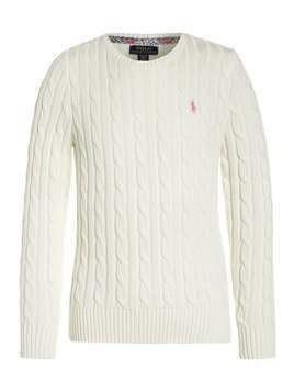 Polo Ralph Lauren CLASSIC Sweter warm white