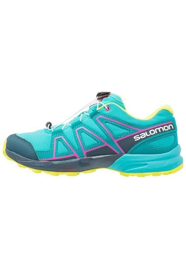 Salomon SPEEDCROSS Obuwie do biegania Szlak ceramic/reflecting pond/lime punch