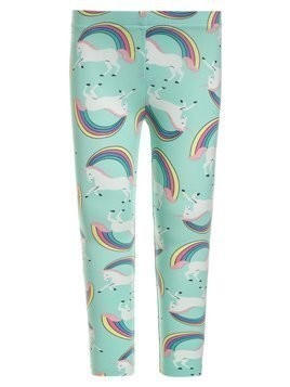 Carter's UNICORN RAINBOW  Legginsy mint