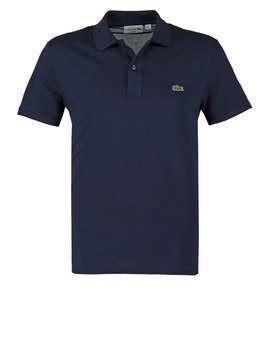 Lacoste SHORTSLEEVE SLIM FIT Koszulka polo navy blue