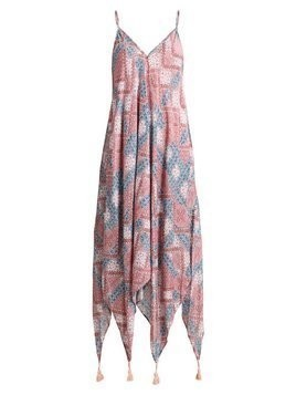 Seafolly DAWNTODUSK BOHEMIAN PRINT DRESS Akcesoria plażowe heather rose