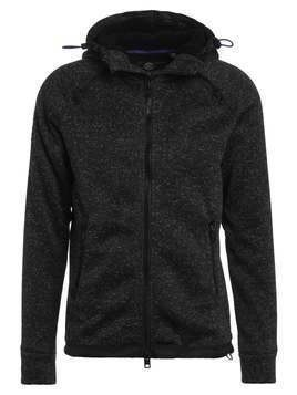Superdry STORM DOUBLE ZIPHOOD Bluza rozpinana gritty black