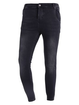 SIKSILK Jeansy Slim Fit washed black