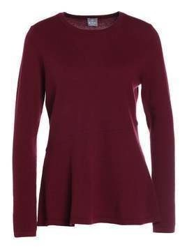 FTC Cashmere Sweter red wine