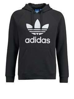 adidas Originals TREFOIL  Bluza z kapturem black