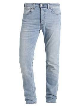 Edwin ED80 SLIM TAPERED Jeansy Relaxed fit light trip used