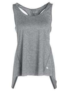 Manduka KOSHA OPEN BACK  Top heather grey