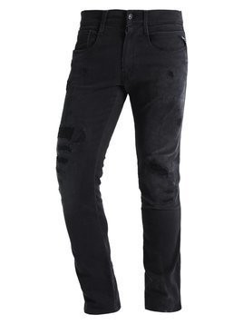Replay ANBASS Jeansy Slim fit destroyed denim