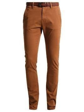 TOM TAILOR DENIM Chinosy rich cinnamon