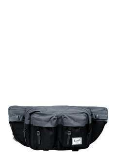 Herschel EIGHTEEN Saszetka nerka black/dark shadow