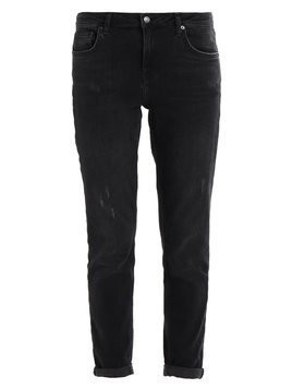 Topshop LUCAS Jeansy Relaxed fit black