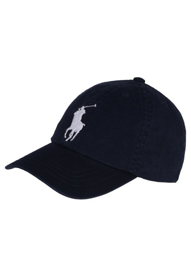 Polo Ralph Lauren BIG APPAREL ACCESSORIES HAT Czapka z daszkiem newport navy