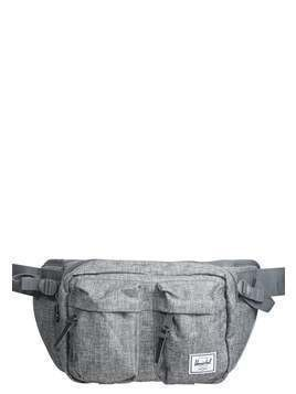 Herschel EIGHTEEN Saszetka nerka raven crosshatch