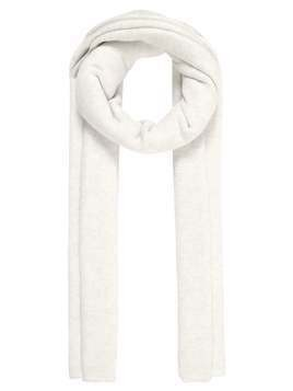 Club Monaco BEDFORD BLOCK SCARF Szal white/grey