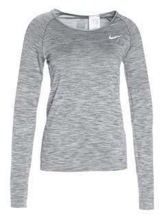 Nike Performance DRIFIT Koszulka sportowa cool grey/heather/reflective silver