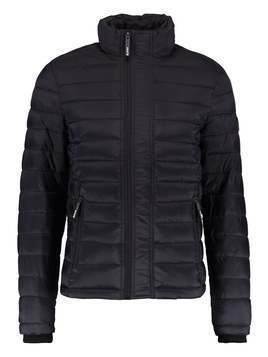 Superdry FUJI TRIPLE ZIP THROUGH Kurtka przejściowa black