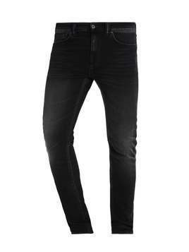 Edwin ED85 SLIM TAPERED DROP CROTCH Jeansy Slim fit black acid