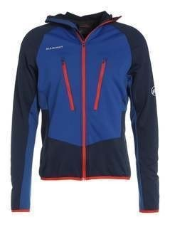 Mammut AENERGY LIGHT HOODED Kurtka z polaru marine/ultramarine