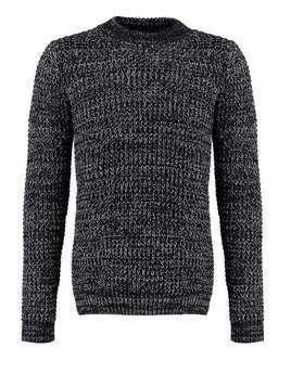 Superdry NORDIC DEPTH Sweter navy/cream