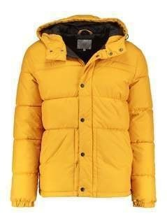 Jack & Jones JCOROGER Kurtka zimowa golden orange