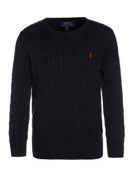 Polo Ralph Lauren CABLE Sweter hunter navy