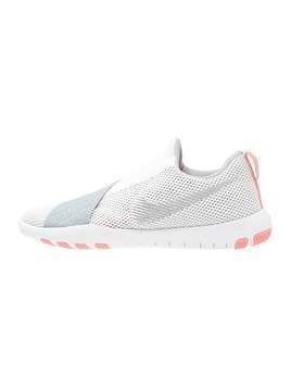 Nike Performance FREE CONNECT Obuwie treningowe white/metallic silver/wolf grey/bright melon