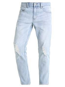 Obey Clothing JUVEE FLOODED Jeansy Slim Fit destroyed indigo