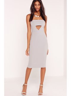 Missguided - Sukienka Crepe Cut Out