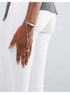 Low Luv Silver Plated Hand Harness - Silver