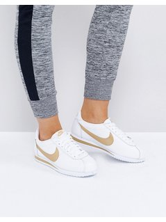 Nike Gold Pack Cortez Trainers - White