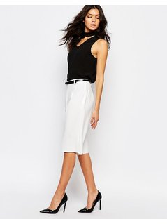 River Island Tailored Short - White