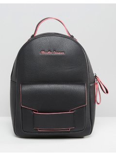 Claudia Canova Backpack with Contrast Trim - Black