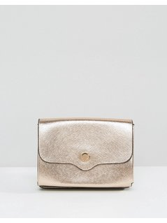 Dune Exclusive Kimberly Purse in Rose Gold - Gold