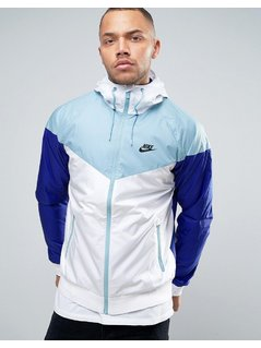 Nike Windbreaker Jacket In White 727324-102 - White