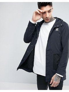 adidas Originals Lightweight Parka - Black