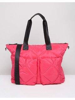 ASOS LIFESTYLE Quilted Holdall - Pink