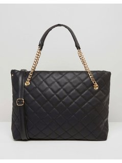 7X Quilted Bag - Black