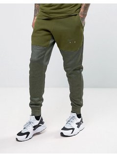Nike Air Joggers In Tapered Fit In Green 832152-331 - Green