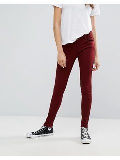 Pimkie Coloured Skinny Trouser - Red