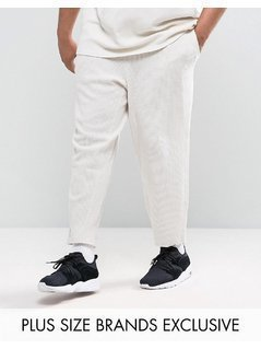 Puma PLUS Waffle Joggers In Grey Exclusive to ASOS - Grey
