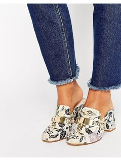 ASOS STAPLE Heeled Mules - Multi