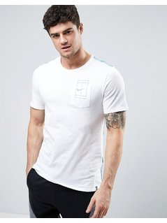 Nike Court Pocket T-Shirt In White 836064-104 - White