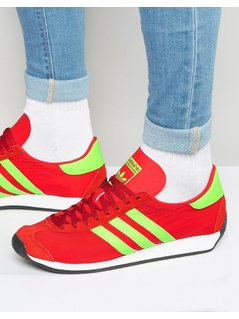 adidas Originals Country OG Trainers In Red S32117 - Red