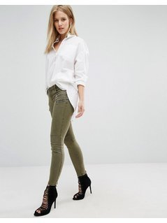 Blank NYC Crop Cargo Trouser - Green