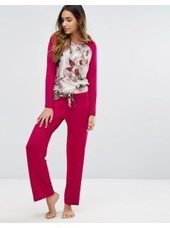 B By Ted Baker Opulent Bloom Jersey Pant - Multi